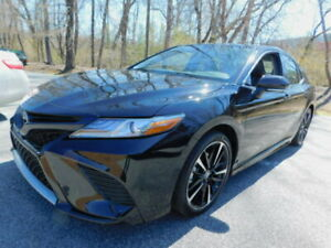 2019 Camry XSE 2019 TOYOTA CAMRY XSE 15438 Miles BLACK SEDAN 4-DR  8-SPEED AUTOMATIC