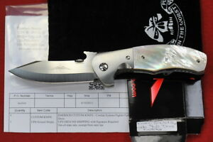 2013 Custom Ernest Emerson Combat Systems Fighter Full Dress Prototype MOP Scale