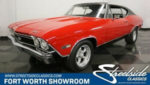 1968 Chevelle SS 396 GREAT PAINT! PERIOD CORRECT 396 V8 AUTO POWER STEERING