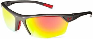 Under Armour Zone 2.0 Satin Black Frame with Black Rubber and Gray Lens
