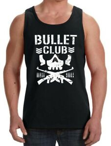 Bullet Club Wrestling Gym Work Out Training tank top S-3X