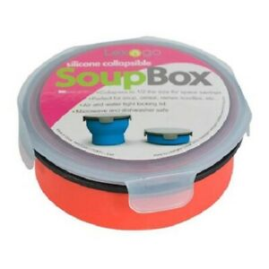 Lexngo Silicone Collapsible SoupBox Lunch Container Meal Snack Box