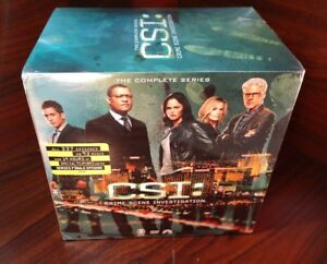 Csi: Crime Scene Investigation - Complete Series DVD Boxset-NEW-Free Shipping