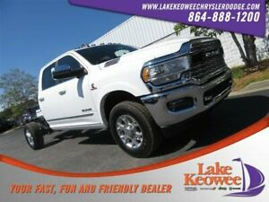 2019 Ram 3500 Limited 2019 Ram 3500 Chassis Cab Limited 1 Bright White Clearcoat Crew Cab Chassis-Cab