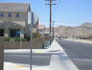 15 acres (3 parcels) land with all utilities in Rosamond California