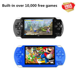 4.3'' TFT Portable PSP High Definition Handheld Game Machine w 10000 Free Games
