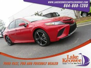 2019 Camry XSE 2019 Toyota Camry XSE 1293 Miles Supersonic Red 4dr Car Regular Unleaded I-4 2.5
