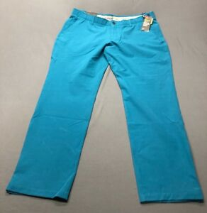 Under Armour Cold Gear Infrared Taper Golf Pants (42 x 32 Turquoise)(NWT) $95