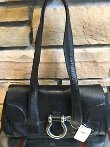 Designer Burberry Leather Handbag Purse New!