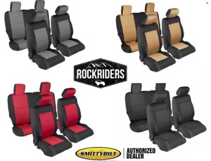 2008-2012 Jeep Wrangler Unlimited JK Smittybilt Complete Neoprene Seat Covers