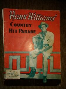 Hank William's Sr Signed Magazine & Lois Mann hand wrote Music  Nov 1951