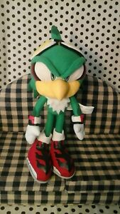 Jet the HAWK Sonic the Hedgehog Plush Doll Sega 2013 toy green great eastern
