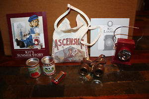 AMERICAN GIRL HISTORICAL DOLL KIT'S HOBO CAMP SUPPLIES SET NMINT W STORY CARD