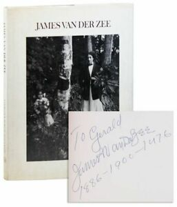 DeCock & McGhee, JAMES VAN DER ZEE, First ed dj 1973 SIGNED by Van Der Zee