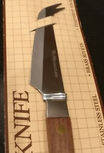 Vintage Cheese Knife Rosewood Handle NEW $13.99