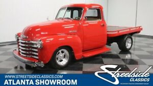 1948 Other Pickups 5 Window Flatbed classic vintage chrome 5 window flatbed chevy zz4 v8 red