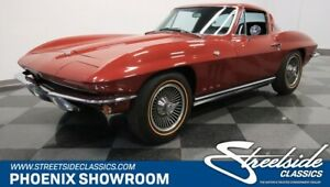 1965 Corvette Sting Ray Vette Stingray C2 NCRS Manual V8 Original Classic Vintage Collector Numbers Red