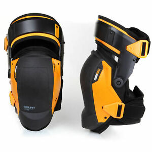 Construction Knee Pads Work Hinged Nee Flooring Concrete Roofing Plumbing NEW
