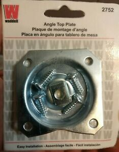 Angle Top Plate 18 Gauge Heavy Duty Steel Mounting Screws Furniture Connector US