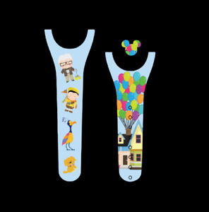 For Disney Magic Band 2 Decal Stickers Up Balloons Carl Dug Russell Kevin