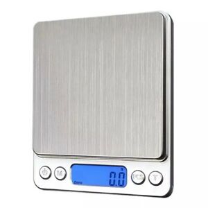 Digital Scale 2000g x 0.1g Jewelry Gold Silver Coin Gram Pocket Size Herb Grain $8.75