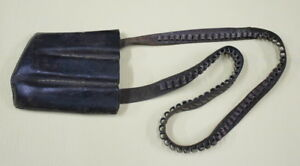 Militaria WW2 pouches Leather ammunition 3 magazine Pouch and 50 bullets (rare)