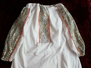 Stunning Sequins Vintage Romanian traditional dress GBP 130.00