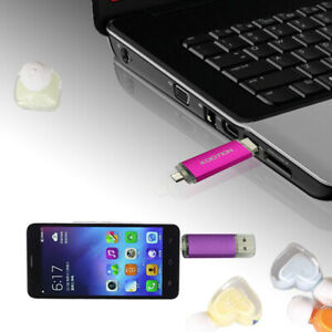 163264G OTG USB 2.0 Flash Drive Pen Memory Stick For Android Micro Phone