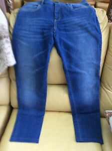 Pale Blue Ladies Denim Jeans Size 10 12 Make My Best Jeans Leg Length 28.