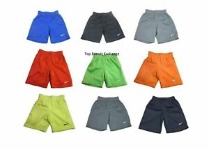 Little Boys & Toddler Nike Athletic Dri Fit Shorts Size 2-4T 4-7 Black Blue Red