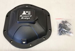 SALE Rugged Ridge Dana 44 Boulder Aluminum Differential Cover FOR Jeep Models