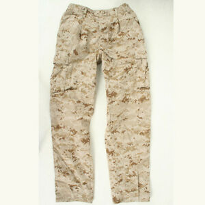 USMC Desert Marpat utilities used MCCUU Medium Long trousers pants cammies ML