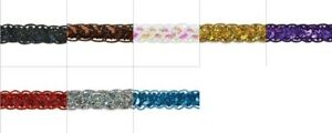 Expo 10 yards of Thea Sequin Cord Braid Trim