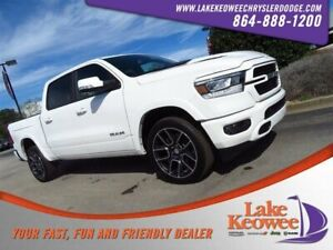 2019 Ram 1500 Laramie 2019 Ram 1500 Laramie 1 Ivory 3-Coat Crew Cab Pickup Regular Unleaded V-8 5.7 L