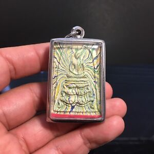 Phra Somdej Lp Pare Thai Buddha Amulet Talisman Luck Love Rich Protected Vol.1