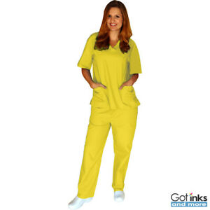 43pk Unisex MenWomen Uniform Scrub Set Top & Pants