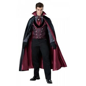 Dracula Costume Adult Victorian Vampire Halloween Fancy Dress $89.19