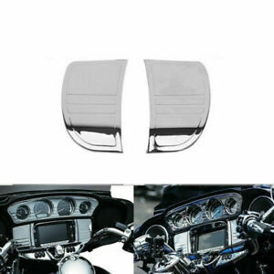 Motorcycle Stereo Trim Cover Fit for Harley Street Glide, Tri Glide 2014-2018