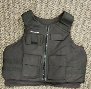 3 XL  Armor Shield USA  Level IIIA Body Armor Bullet Proof Vest with Inserts
