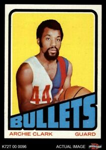 1972 Topps #120 Archie Clark  Bullets (Wizards) NM