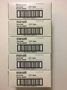 50 NEW Sealed MAXELL HS-4125s DDS-3 20GB40GB  Data tape Cartridges PN 200025