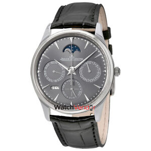 Jaeger LeCoultre Master Ultra Thin Perpetual Automatic Men's Watch Q130354J