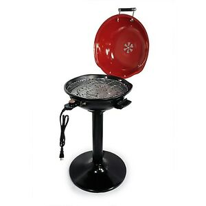 """BETTER CHEF 15"""" 1600 WATTS ELECTRIC OUTDOOR BACK YARD HOME GARDEN BARBECUE GRILL"""