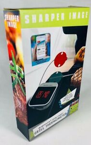 New Sharper Image Bluetooth Smartphone Grill Thermometer iOS & Android Usability