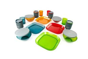 GSI Outdoors Infinity 4 Person Deluxe Table Set Multi-Color