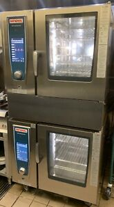2 x Rational  SCC 61NG Combi Self Cooking Center Convection OvenSteamer 2018