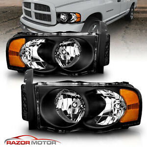 Replacement Headlights for 2002 2005 Dodge Ram 1500 2500 3500 Left Right $89.65