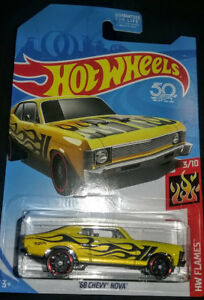 ☆ '68 CHEVY NOVA KMART K-DAY EXCLUSIVE YELLOW 2018 HOT WHEELS COMBINE OFFERS