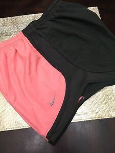 Nike Running Shorts Peach Brown Great Condition ~Womens Size M