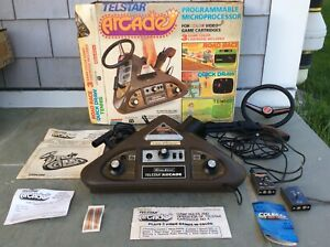 1976 Coleco TV Console System TELSTAR ARCADE Tabletop  Video Game ✨WITH BOX✨